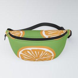 Orange Pattern Fanny Pack