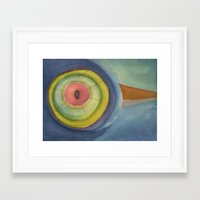 zen Framed Art Prints featuring Zen by Angella Meanix