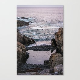 Edge of the Water Canvas Print