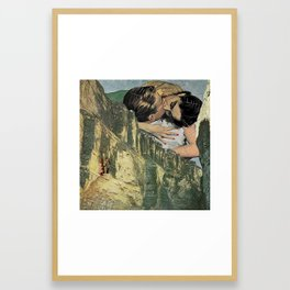 The Spider and Me Framed Art Print