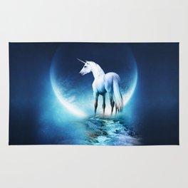 unicorn galaxy Rug