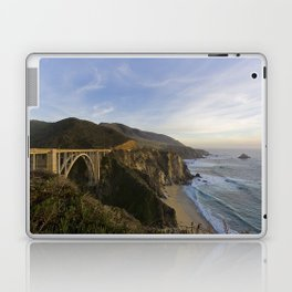 Bixby Bridge at Big Sur Laptop & iPad Skin