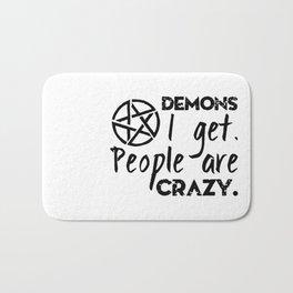 Demons I get Bath Mat