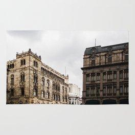 Gloomy Buildings Rug