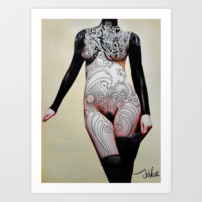 connoisseur Art Print