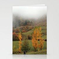 fog Stationery Cards featuring FOG by Avigur