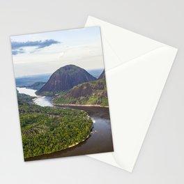 Cerros de Mavecure at dawn Stationery Cards