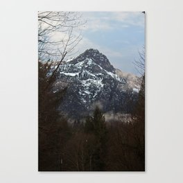 Valley of Ice Canvas Print