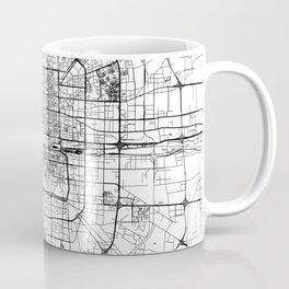 Beijing White Map Coffee Mug