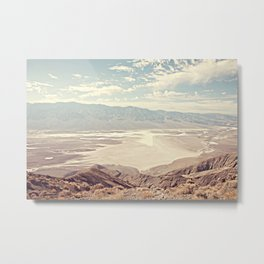 DEATH VALLEY DANTE'S VIEW Metal Print