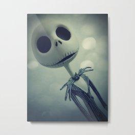 Mr. Jack (Nightmare Before Christmas) Metal Print
