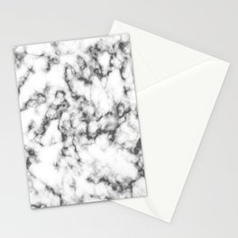 Black & White Marble Stationery Cards