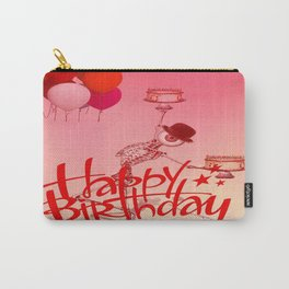 Happy Birthday  Monsieur Bone ! Carry-All Pouch