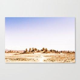 Mystery Planet - Trona Pinnacles Tufa Spires Canvas Print