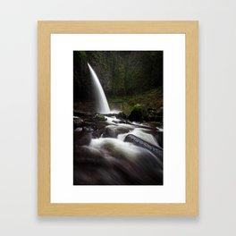 Ponytail Falls Framed Art Print