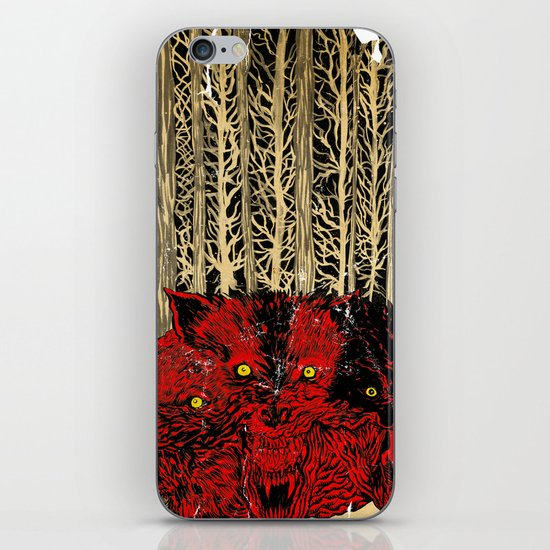 HELL WOLVES iPhone & iPod Skin