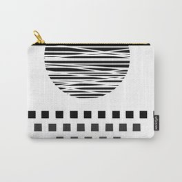 Simple Monochrome Sunset @ Sunrise Carry-All Pouch