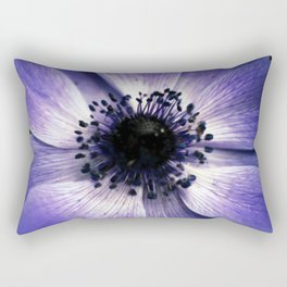 Anemone 'De Caen' Rectangular Pillow