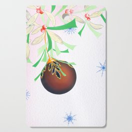 Tinsel and Bauble Cutting Board