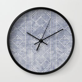 AMAI GEO DENIM Wall Clock