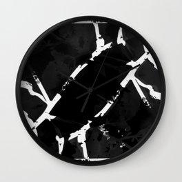 2020 Fall/Winter 19 Black Wall Clock