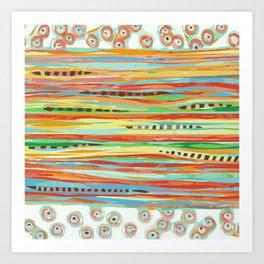 stripes & striped Art Print