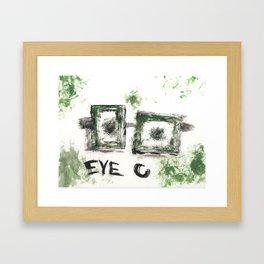 Eye C Framed Art Print