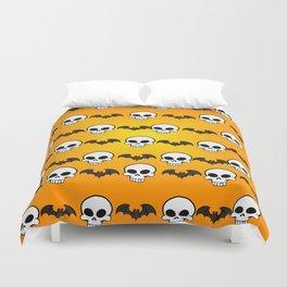 Skully Bats Duvet Cover