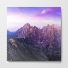 Purple Range Metal Print