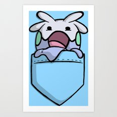 Pokemon: GOOMY Art Print