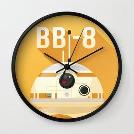 BB-8 Droid Wall Clock