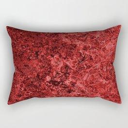 Lava And Blood Rectangular Pillow