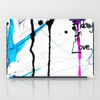 friday iPad Cases featuring Friday by Holly Sharpe