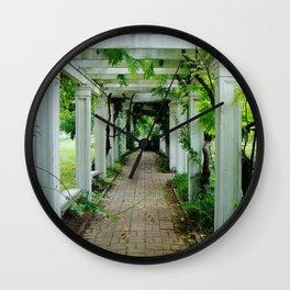 Endless Jungle Wall Clock