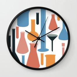 Laboratory Glassware No. 3 Wall Clock