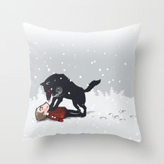snowtime Throw Pillow