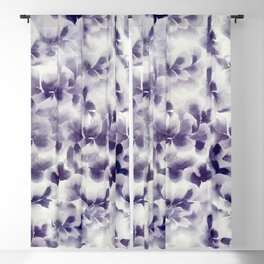 Purple Rein Blackout Curtain