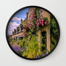 Cotswold Colours Wall Clock