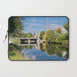Danube reflection Laptop Sleeve