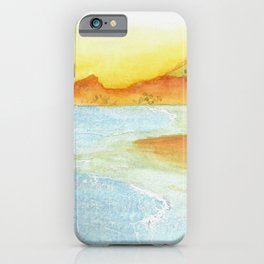 Hillside Beach iPhone Case