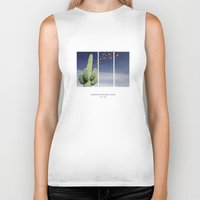 parks Biker Tanks featuring National Parks: Saguaro by Roadtrippers