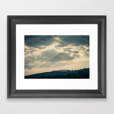Hazy Summer Afternoon 1 Framed Art Print