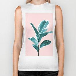 Ficus Elastica Finesse #2 #tropical #foliage #decor #art #society6 Biker Tank