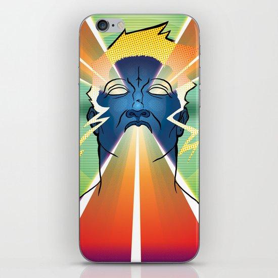 LAZER FACE iPhone & iPod Skin