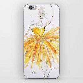 Wishfully Dress Up Doll #1 iPhone Skin