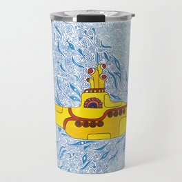 My Yellow Submarine Travel Mug