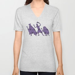 999 Happy Haunts - Servants Unisex V-Neck
