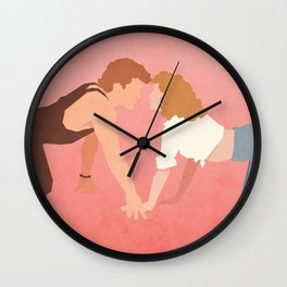 Nobody Puts Baby In A Corner (Dirty Dancing) Wall Clock