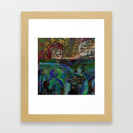 Friendly Adventures Framed Art Print