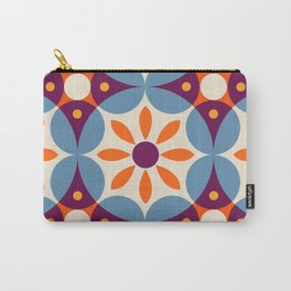 Cement tiles, gemoetric textures, patterns, southern Italy style Carry-All Pouch